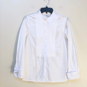 Madewell Button Down Blouse Pleated S